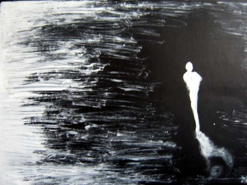 Abstract Paintings Loneliness